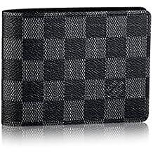 Louis Vuitton Damier grafito lienzo múltiples tipo cartera n62663