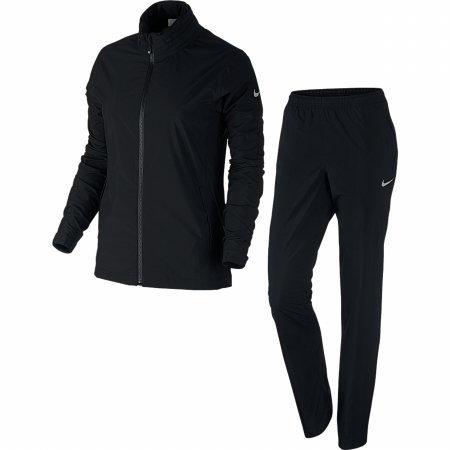 Nike Damen Regenanzug 2.0, Black/Metallic Silver, M, 726164-010 (Nike Damen Golf-bekleidung)