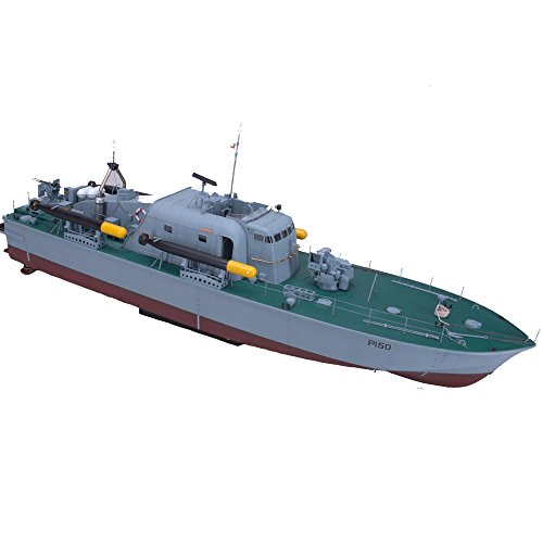 (ARKMODEL 1:32 Perkasa Boot Vosper Schnell Patrol Kit High Speed RC Segelboot)