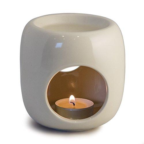 Sabai Scent Pure - Keramik Duftlampe / Duftlicht - weiß B-Ware