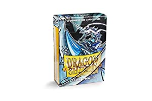 Arcane Tinmen ApS ART11101 Fundas: Dragon Shield Mate japonés Transparente (60 Klar) Juego de Cartas
