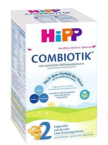 Hipp Orgánico Combiotik 2 leche de continuación