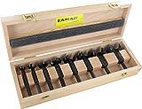 Famag Forstnerbohrer Set WS Bormax, 3-teilig, Holzbohrer ø 15-35 mm, Länge 90 mm, in praktischer Holzbox, 1622505