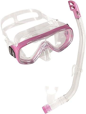 Cressi Kids Ondina Vip Jr-Mask & Snorkel-Snorkeling Combo Set (Made