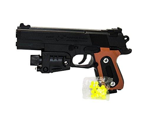 Fair Pistola Giocattolo con Luci Laser 6 MM e Pallini Inclusi mod 459