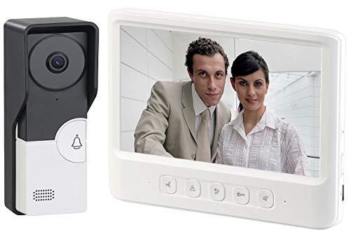 Digitaler T/ürspion 6,4 cm HD Bildschirm Smart Visual Video T/ürklingel mit 135 Grad Nachtsicht Weitwinkel Video//Fotoaufnahme 24H Safe Kamera 32G TF-Karte f/ür Home Office Wohnung Hotel