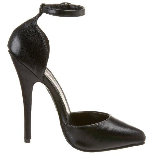 Pleaser - Dom402/B/Le, Scarpe col tacco da donna Nero(Black (Black))