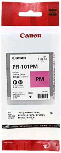 Canon PFI-101PM Encre pour papier photo IPF5000/5100/6000S/6100/6200 Magenta