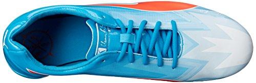 Blast Red V3 Bolt evoSPEED White Sneaker Blue Atomic Elektro Puma SqPzn