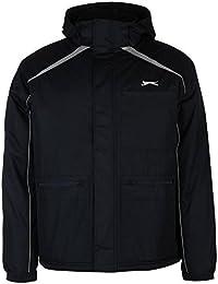 Slazenger Panneau Veste pour homme Bleu marine vestes manteaux Parka Vêtements de sport