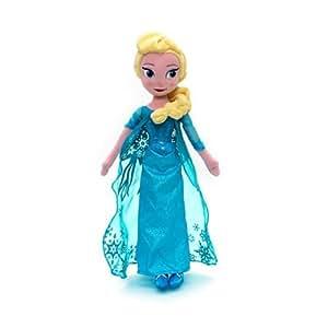 "Disney Elsa From Frozen 20"" Soft Toy Doll"
