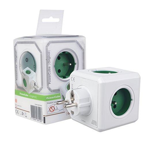 Allocacoc Powercube Multipresa Ciabatta Elettrica Europa 5 Porte 2100/FRORPC Schuko