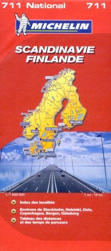 Scandinavie Finlande : 1/1 500 000