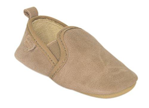 MOVE Prewalker Hausschuhe Baby, Chaussons premiers pas mixte bébé Beige - Beige (Camel470)