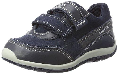 Geox Baby Jungen B Shaax B Sneaker, Blau (Navy), 23 EU (Geox Jungen Sneakers)