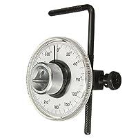 ✸ caratteristica✸ coppia display: quadrante Tipo.✸ coppia range: 0-360gradi.✸ braccio regolabile mantiene la scala angolare fermo.✸ holding Rod per assicurarsi che il misuratore è in posizione durante l' uso.✸ graduato in gradi.✸ il braccio ha du...