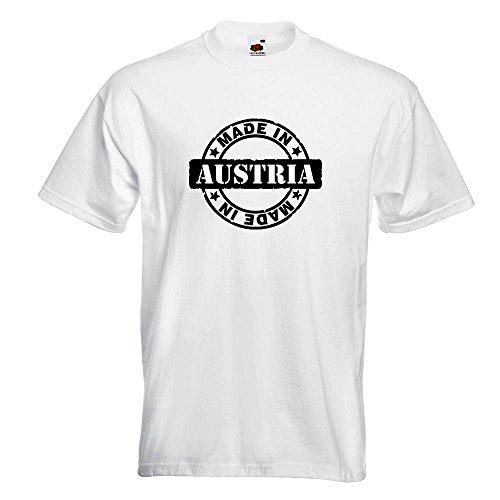 KIWISTAR - Made in Austria T-Shirt in 15 verschiedenen Farben - Herren Funshirt bedruckt Design Sprüche Spruch Motive Oberteil Baumwolle Print Größe S M L XL XXL Weiß