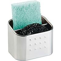 InterDesign Forma Porta estropajos | Ideal almacenamiento de estropajo, bayeta decocina | Accesorios de cocina