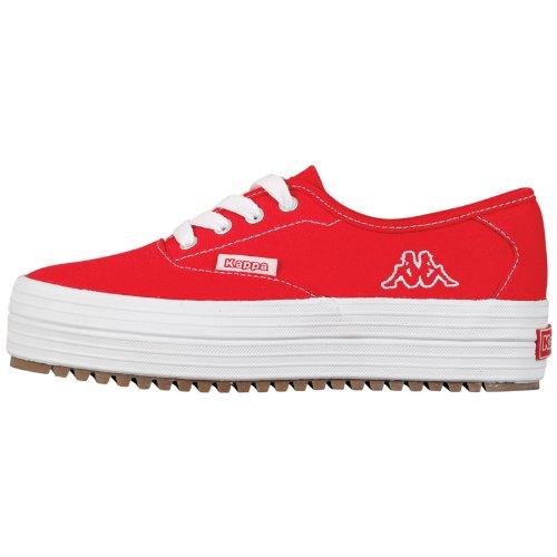 Kappa HIGHNESS Damen Sneakers Rot (2010 red/white)