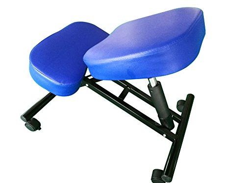 Boudech sedia ergonomica sgabelli ergonomica ufficio poltrona sgabello per ufficio blu *sedmasblu*