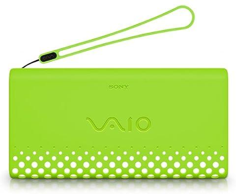 Sony AKP1/G Notebooktasche mit Handschlaufe für Vaio P Series grün