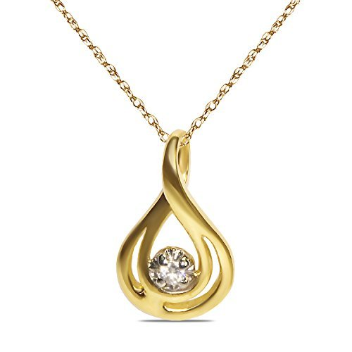 ladies-03ct-10k-yellow-gold-fancy-tear-drop-pendant-with-complimentary-18-chain-by-nissoni-jewelry
