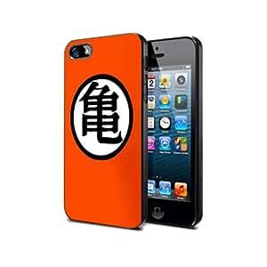 DG6 Dragonball GT Manga Goku Game Silikon Schutzhülle für iPhone 5/5s Hülle Silicone Cover Case Black@UTMSHOP