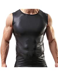 iEFiEL Männer Herren Unterhemd Tank Top T Shirt Achselhemd Unterwäsche Body S-XL