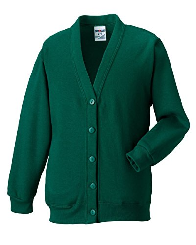Russell Athletic - Sweat-shirt - Femme * taille unique vert bouteille