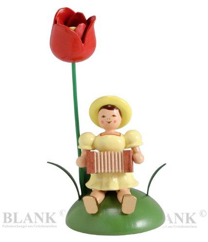 Blumenkinder farbig, Tulpe/Harmonika