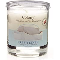 Duftkerze im Glas, klein - Fresh Linen (Feines Leinen) 35 h preisvergleich bei billige-tabletten.eu