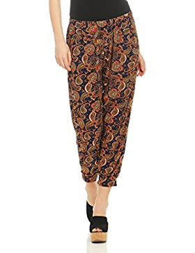 malito Mujer Pantalones Harem Modelo Etnico Pantalones KA5589