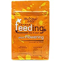 Powder Feeding Fertilizante Multiusos Short Flowering 2,5 kg, Naranja, 20x15x8 cm, SHFL25-PF