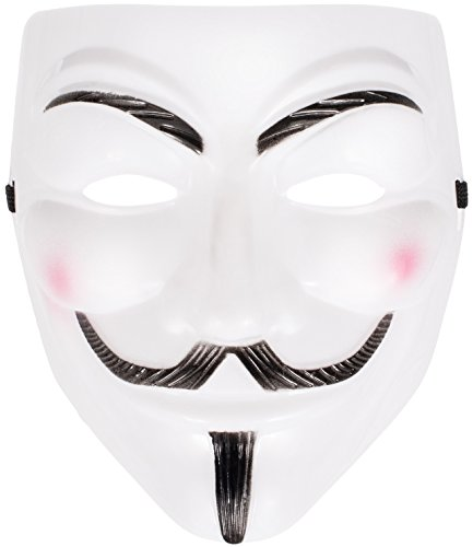 Anonymous Maske Vendetta Halloween Karneval Kostüm Anonymus Maske Guy Fawkes Maske