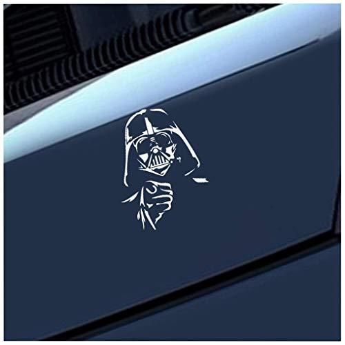 Auto Mit Aufkleber 18 x 13,3 cm Auto-Styling BIG MOVIE STAR WARS Darth Vader Auto Weltweit KOSTENLOSE lustige Autoaufkleber