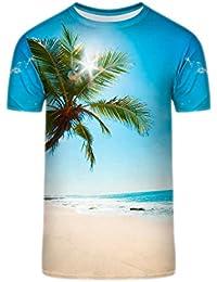 TrendClub100 Guru Shirt Sommer Karibik Strand