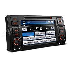XTRONS 7Inch HD Digital pantalla táctil Radio estéreo de coche in-dash reproductor de DVD con navegación GPS, canbus, duplicado de pantalla Función para BMW E46318320325