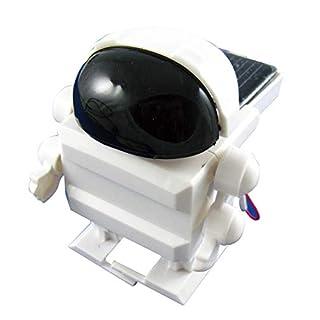 Arexx WTR-003 SOLAR Cosmonaut, Weiß, Kein