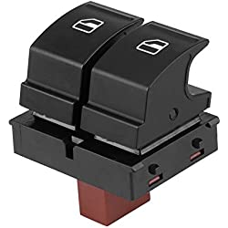 Akozon Electric Control Window Regulator Button Switch 1z0959858 Fit for Octavia Fabia 2 Roomster
