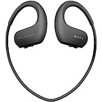 Sony NWWS413 Walkman - Reproductor MP3 Deportivo (4 GB, Resistente al Agua Salada y Altas temperaturas), Color Negro