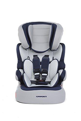 Foppapedretti Babyroad Seggiolino Auto, Blu  Ocean, Gruppo 1-2-3 (9-36 Kg) per bambini da 9 mesi a 12 anni circa