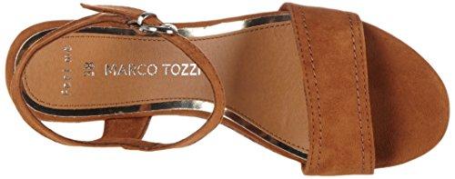 Marco Tozzi 28359, Sandali donna Marrone (Cognac 305)