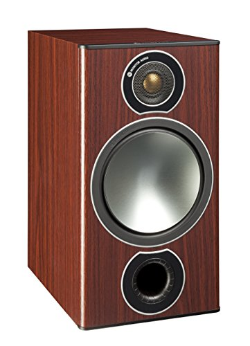 Monitor Audio Bronze 2 Speakers (Pair) (Rosewood mahogany) by Monitor