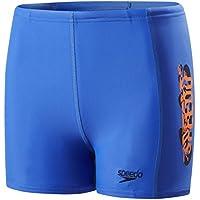 Speedo Jungen Electric Spritz Placement Panel Aqua Shorts, Jungen, Electric Spritz Placement Panel