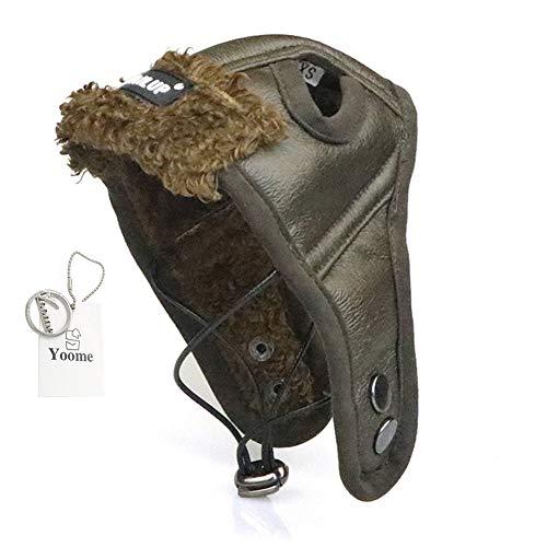 Thanksgiving Erwachsene Für Kostüm - Haustier Hund Flieger Hut, einstellbare Hund Wintermütze Ohrlöcher Winddicht weichen warmen Hund Kostüme Hut