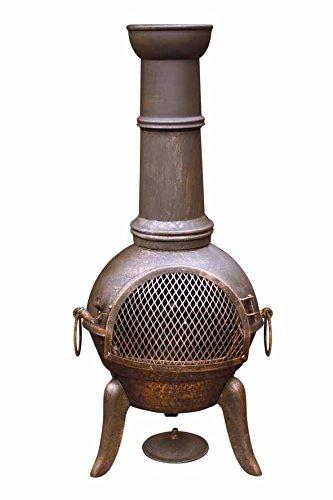 Gardeco 112 cm Granada escuadrilla Chimenea trípticas