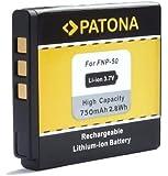Bundlestar * Qualitätsakku für Fujifilm NP-50 NP-50A passend zu Fuji Finepix XF1 X20 X10 F900EXR F850EXR F800EXR F770EXR F750EXR F660EXR F600EXR F550EXR F500EXR F300EXR F70EXR -- Real 3D W3 -- XP200 XP150 XP100 (100% kompatibel zum Original)