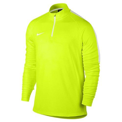 Nike M Dry Drill acdmy–Top maniche lunghe per uomo amarillo  (volt / blanco / blanco)
