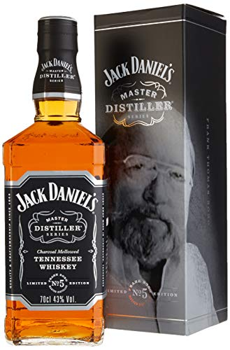 NEU: Jack Daniel's Tennessee Whiskey - 43% Vol. - Master Distiller Serie No. 5 - limited Edition Bourbon (1 x 0.7 l) (Distillery Daniels Jack)