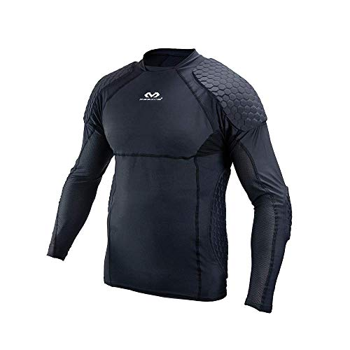 McDavid Unisex-Adult HEX Torwart Shirt EXTREME Schwarz S -